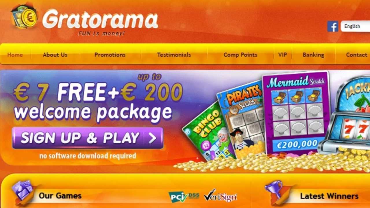 Avis Gratorama casino : offres et services impeccables