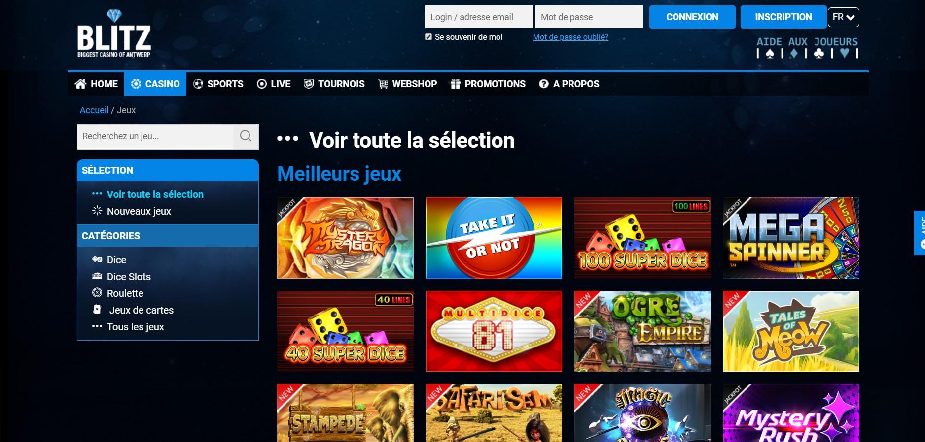 Avis Blitz casino : les particularités de ce casino en ligne !
